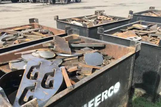 sucata ferro e aço para fundição