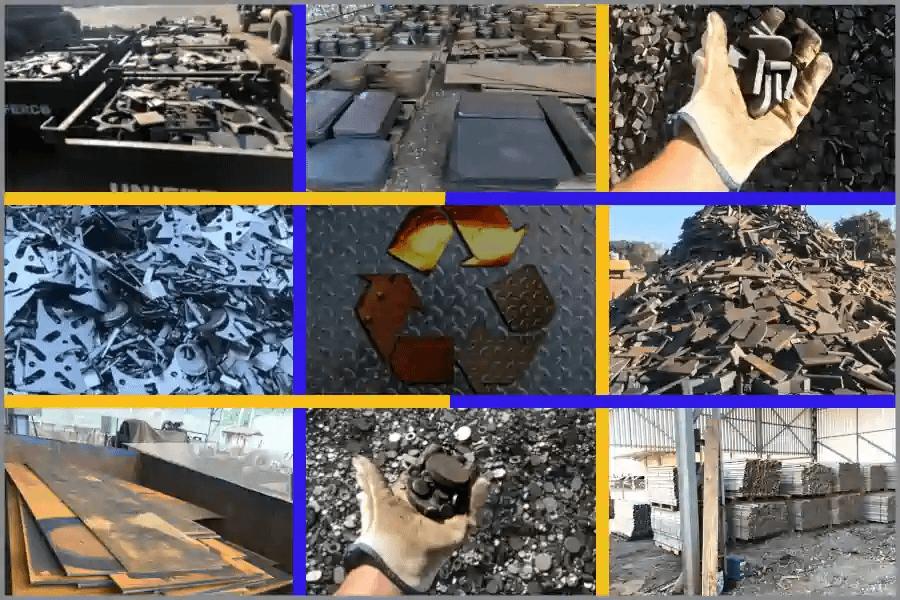 Sucatas de ferro e aço | Aluminio e outros metais, oxicorte e alta densidade#1